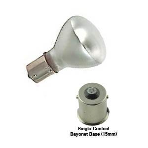 1383 Safety Coated, Shatter Resistant, Incandescent Elevator Lamp