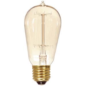 vintage light bulb squirrel cage style non coated. Black Bedroom Furniture Sets. Home Design Ideas