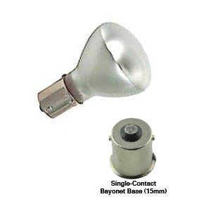 1383 Safety Coated, Shatter Resistant, Incandescent Elevator Lamp