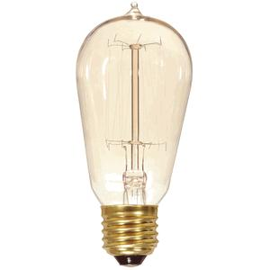 Vintage Light Bulb, Squirrel Cage Style