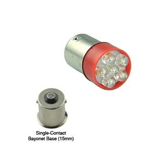 Bayonet Based LED Lamp, T5 1/2, Single Contact