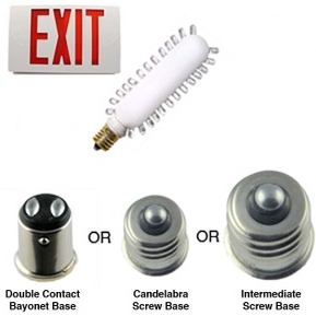 Exit Sign LED Replacement Lamp