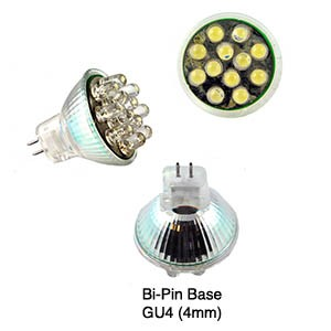 MR11  LED Energy Saving Replacement Lamp, 1.25W