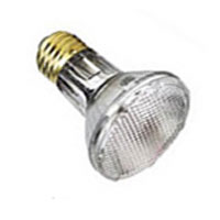 PAR20 Shatter Resistant, Safety Coated, Halogen Reflector Lamp