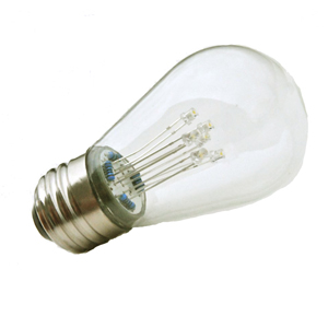 S14 LED Energy Saving Lamp CLEAR Style
